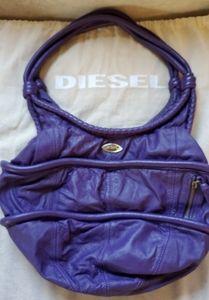 Purple DIESEL Hobo Bag